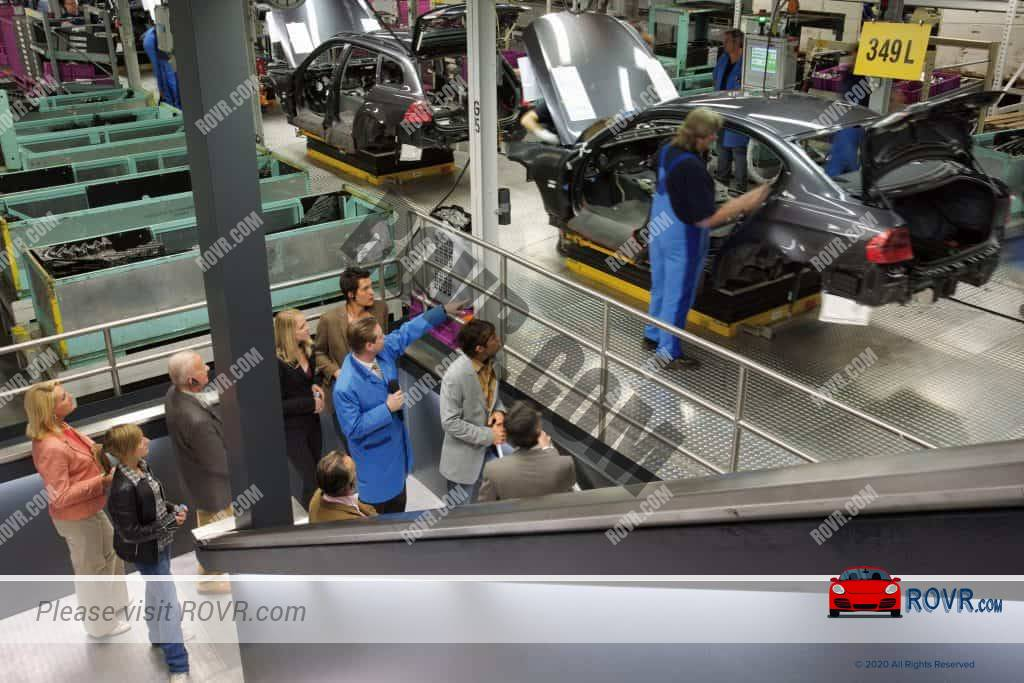 BMW Factory Tour Group at BMW Plant Munich