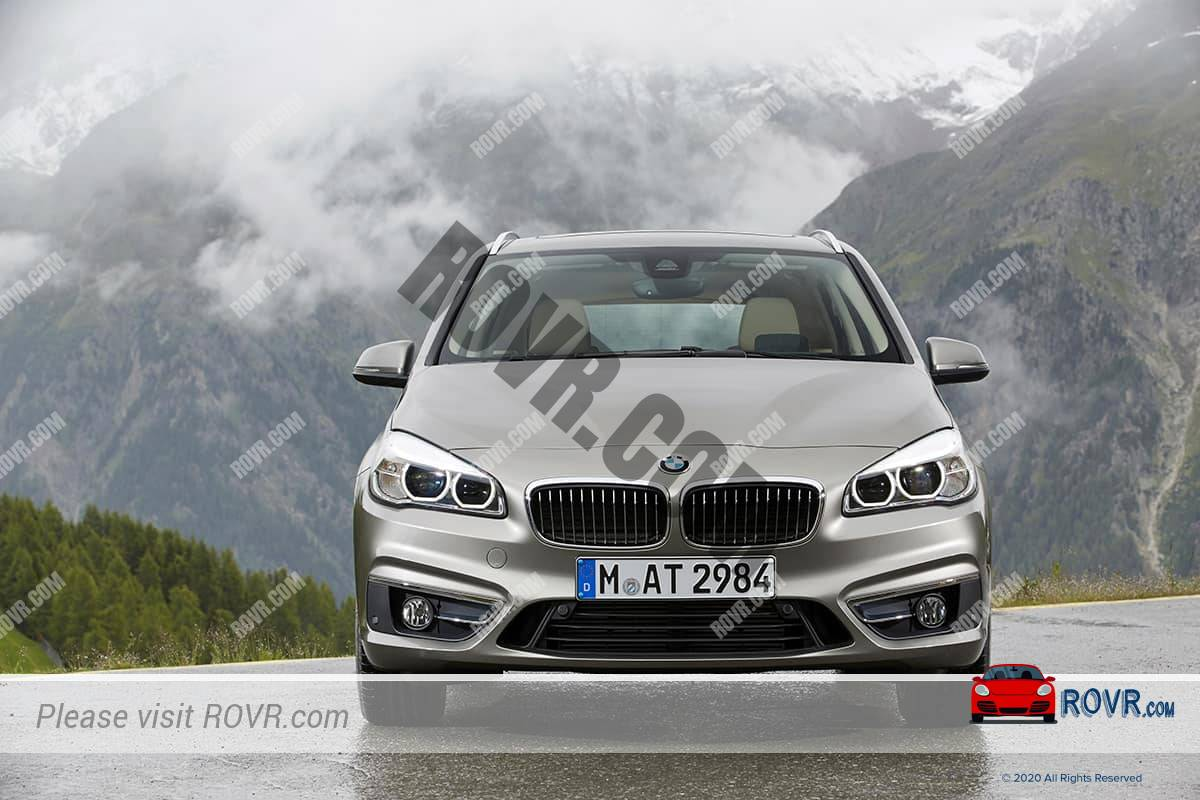 New BMW in the German Alps
