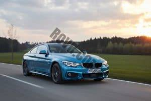 BMW 4 Series on the Road in Germany