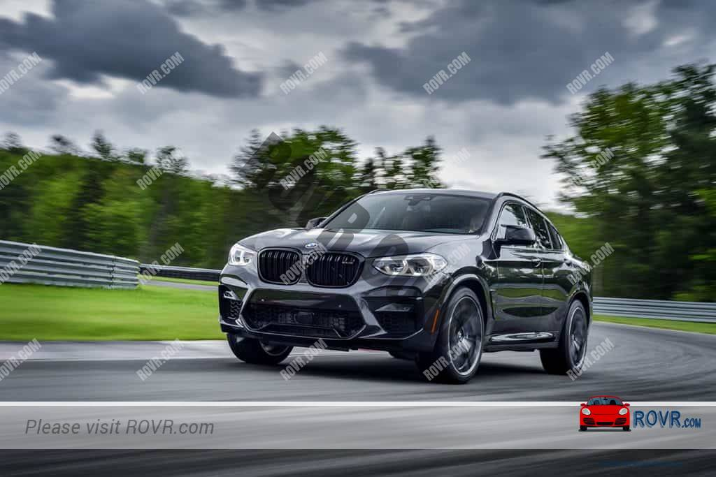 The New BMW X4 on the Road