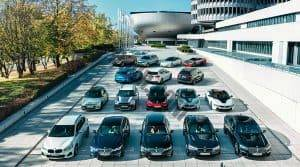 Display of BMW Models at BMW HQ