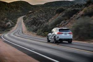 BMW X5M Journey on the Road
