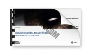 BMW Individual Manufaktur Paint Book